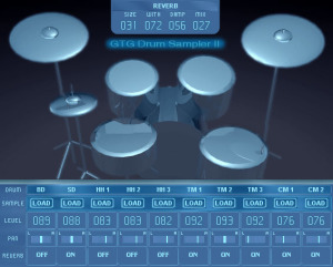 GTG Drum Sampler II