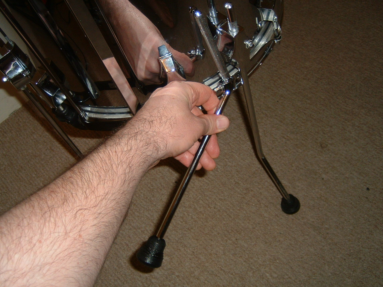 How To Convert A Floor Tom Into A Bass Drum