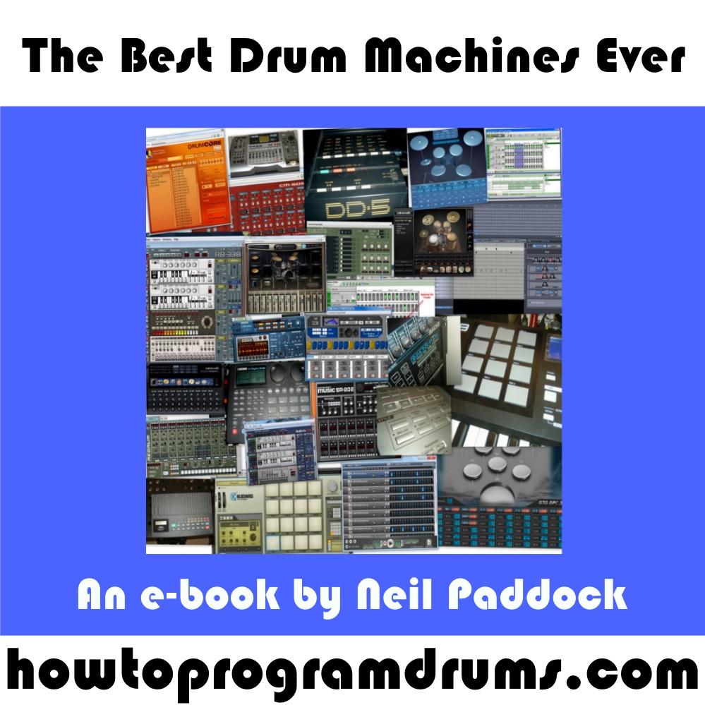 free pdf e book the best drum machines ever. Black Bedroom Furniture Sets. Home Design Ideas