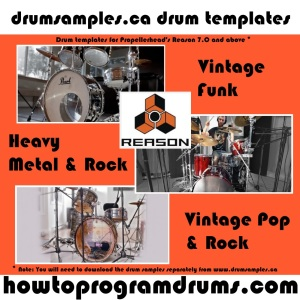 drumsamples.ca Drum Templates for R7+