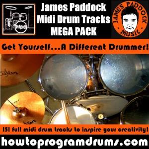 James Paddock Midi Drum Tracks Cover