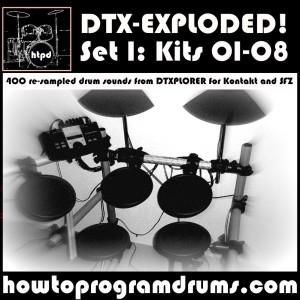 DTXPLORER Set 1 (01-08)