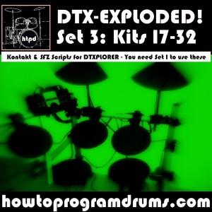 DTXPLORER Set 3 (17-32)